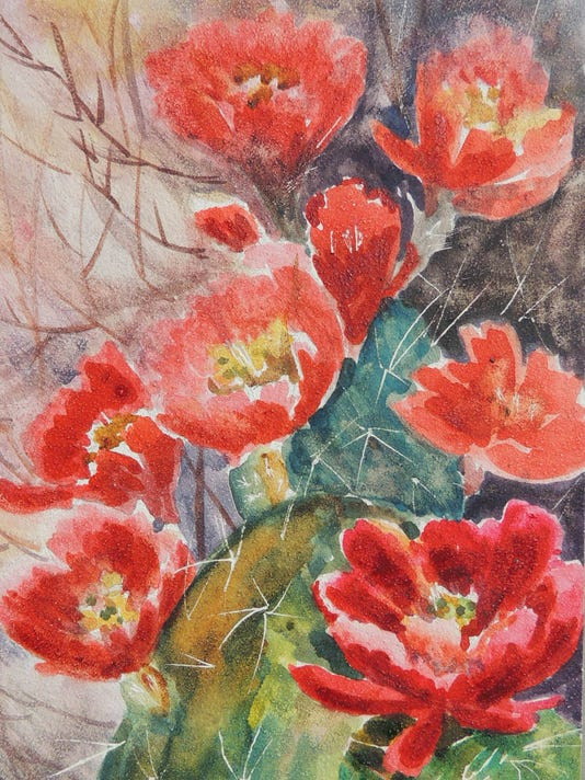 """Claret Cup"" by Laurel Weathersbee"