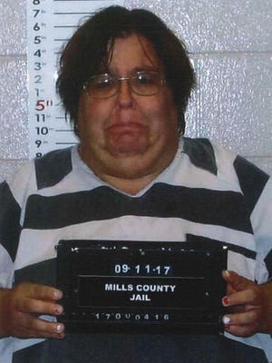 Misty Dawn Frazier, 34 of Glenwood, was arrested on Monday following the death of her daughter. She's being held in the Mills County Jail on a $35,000 cash-only bond.