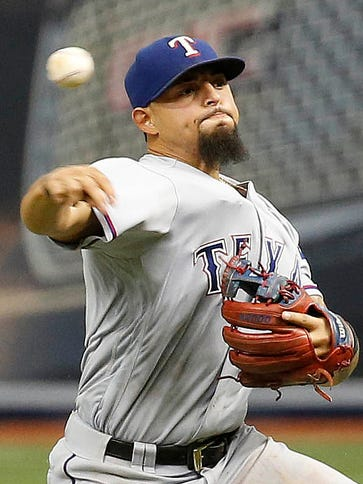 Second baseman Rougned Odor has become integral to