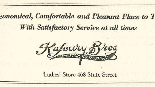 An advertisement is seen in Oregon Magazine, April 1922.