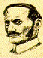 A contemporary sketch of Jewish emigre Aaron Kosminski, who author Russell Edwards claims was the notorious serial killer Jack the Ripper.