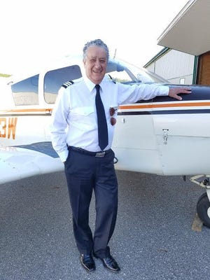 Gino Federici, 80, of Lake Odessa, is looking to become a flight instructor.