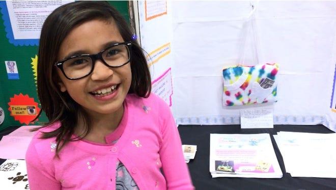 Green Grove Elementary School hosts its first annual Entrepreneurship Fair.