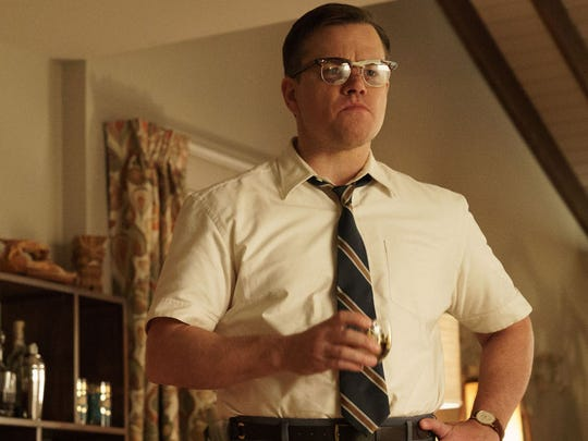 Matt Damon stars as a dad in the 1950s 'burbs in 'Suburbicon.'