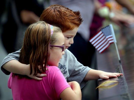 USP NEWS: SEPTEMBER 11 MEMORIAL A USA NY