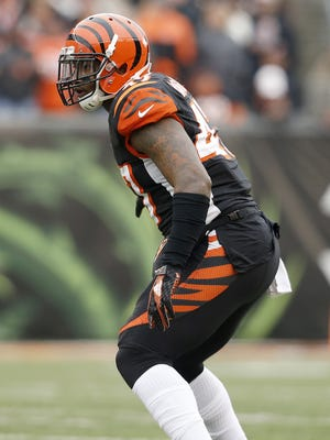 Cincinnati Bengals outside linebacker P.J. Dawson (47) lines up for the kickoff of the first quarter of the NFL Week 17 game between the Cincinnati Bengals and the Baltimore Ravens at Paul Brown Stadium in downtown Cincinnati on Sunday, Jan. 3, 2016. At the half, Baltimore led Cincinnati 9-7.