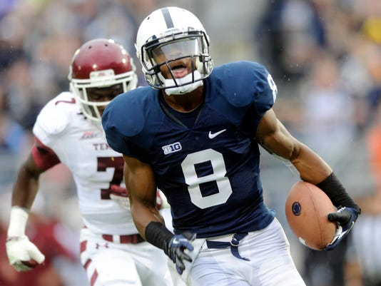 As expected this spring, receiver Allen Robinson is leading what should be another potent Penn State offense.