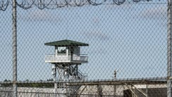 This shows the Lee Correctional Institution on April