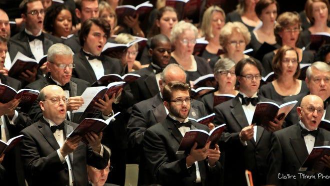 Tallahassee Community Chorus in concert.