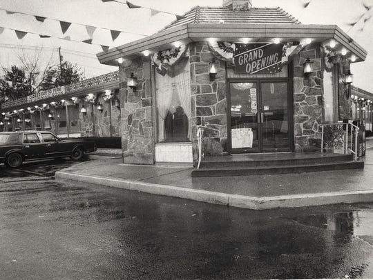 The Forum Diner reopened in December 1986 after a fire