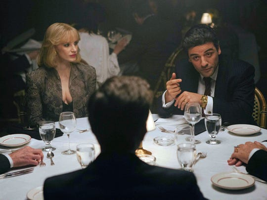 "Jessica Chastain and Oscar Isaac star in the film ""A Most Violent Year."""
