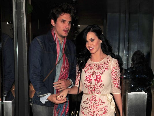 Katy Perry and John Mayer go out to dinner on Valentine's Day