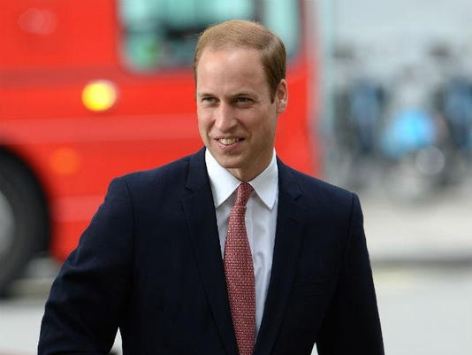 Britain's Prince William, the Duke of Cambridge