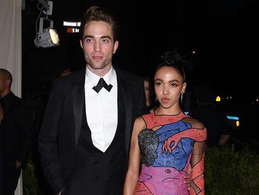 FKA twigs and Robert Pattinson