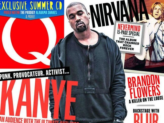 Kanye West on Q magazine