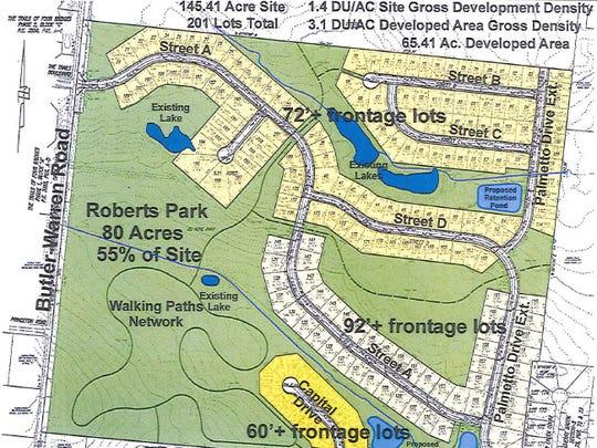 Roberts Park plan