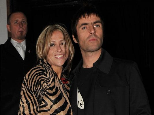 Nicole Appleton with Liam Gallagher
