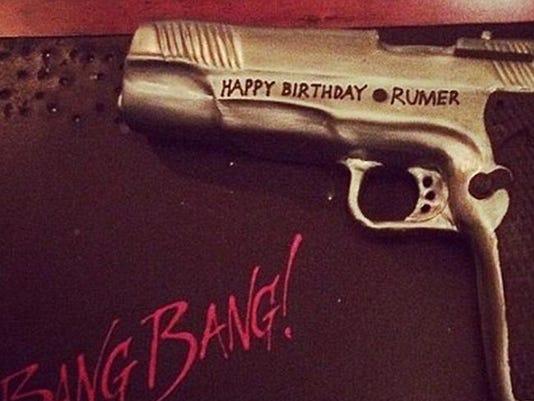 Rumer Willis's cake
