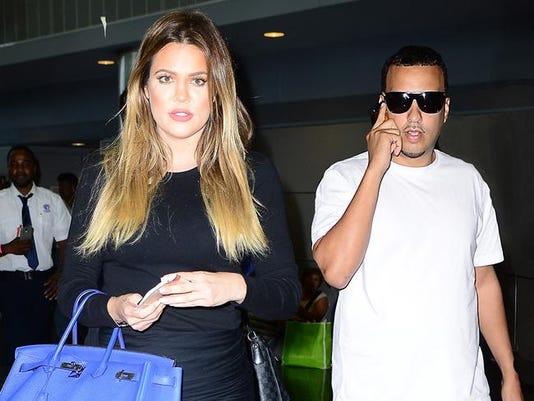 Khloé Kardashian and French Montana