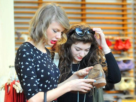 Taylor Swife and Lorde