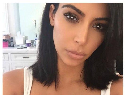 Kim Kardashian West debuts 'short' haircut