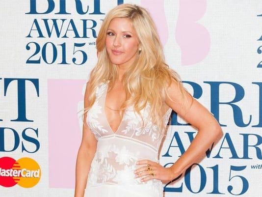 Ellie Goulding at the BRIT Awards