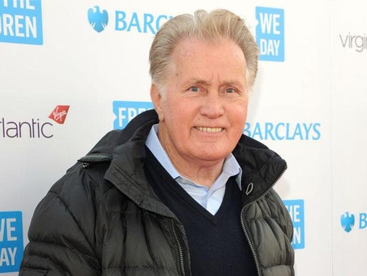 Martin Sheen at We Day UK