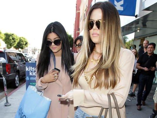 Kylie and Khloe