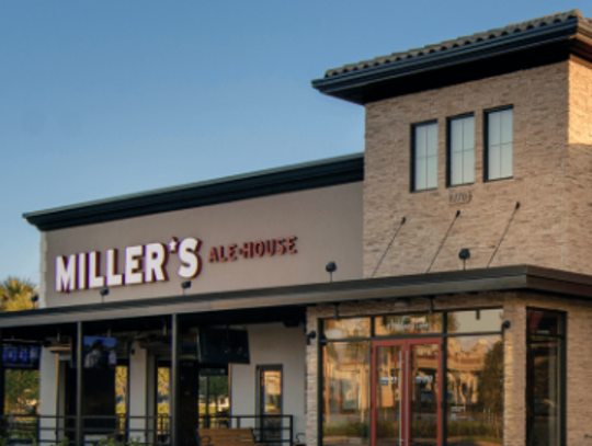 Miller's Ale House took over the old TGI Friday's in Murfreesboro. The new restaurant plans to open in late January.