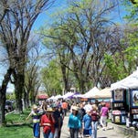 Courthouse Square in Prescott will be lined with artists booths and wine purveyors during the Prescott Fine Arts and Wine Festival.