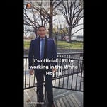Carlyle Begay's fake news moment: He's not a White House employee, despite posts