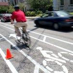 Louisville bike lane