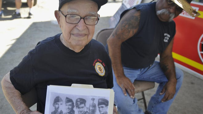 Gonzalez and his brothers all served during World War II.