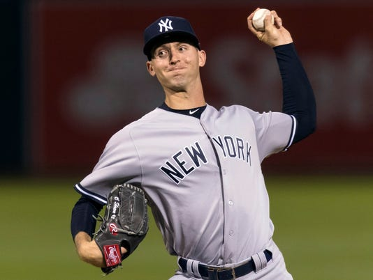 MLB: New York Yankees at Oakland Athletics