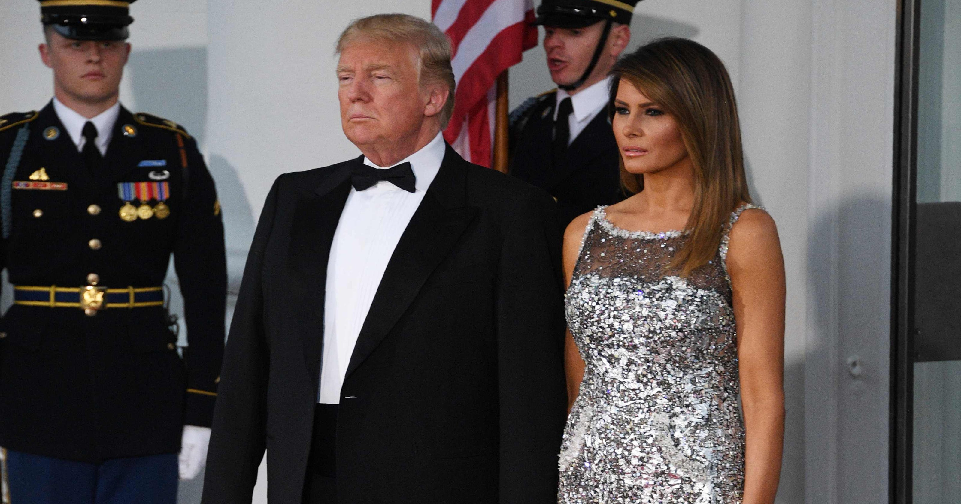 f3b236f3593 Trump says he s too busy to get Melania a birthday present