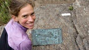 Record-setting hiker Appalachian Trail hiker Jennifer Pharr Davis will be at the Nature Center in Springfield on Saturday.