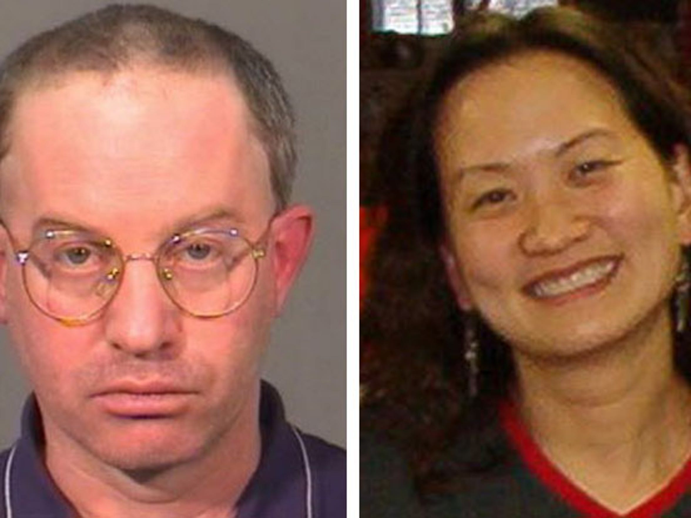 Steve Trattner (left) is serving a 35-year prison term in the 2006 killing of his wife, Sin Lam (right).
