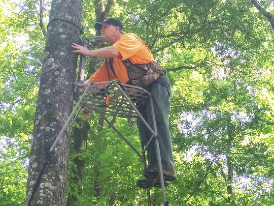 Today's commercially sold ladder stands for deer hunting are much safer and more comfortable than those made years ago.
