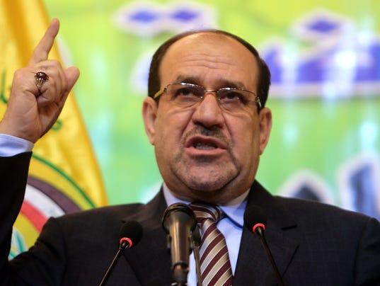 Iraqi PM Nouri al-Maliki