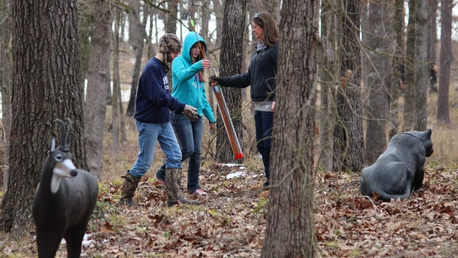 The staff at Cypress Nature Study Center works closely with students.