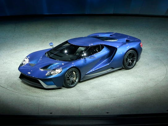 Ford introduced the Ford GT supercar during the 2015