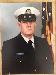 US Coast Guard veteran David McCray.