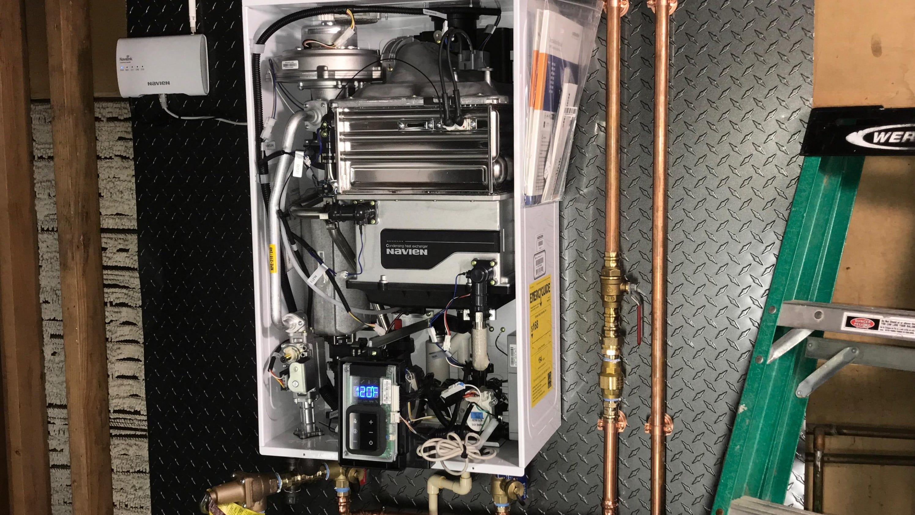Handyman Tank Versus Tankless Hot Water Heater