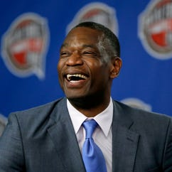 Former NBA basketball player Dikembe Mutombo will be inducted into the Basketball Hall of Fame and will have his jersey retired by the Atlanta Hawks.