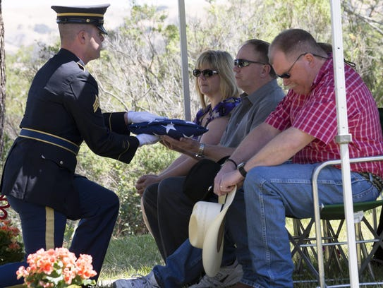 Jimmy Reeder was a veteran whose family celebrated