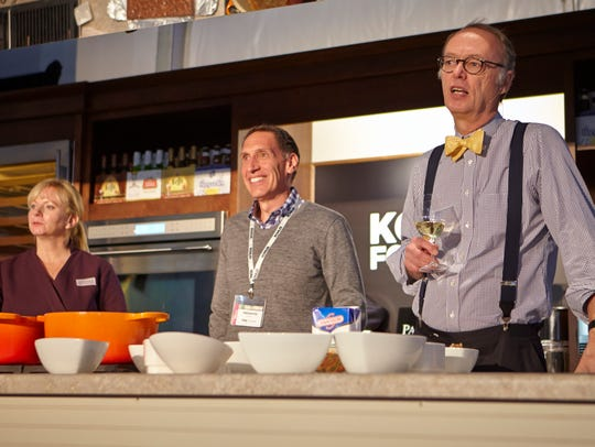 """Members of """"America's Test Kitchen"""" team (from left)"""