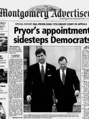 President George W. Bush used a recess appointment to get then Alabama Attorney General on the bench after his nomination was twice blocked by Democrats.