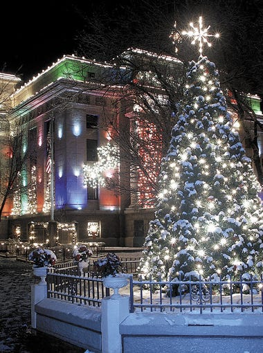 "It's clear why Prescott is Arizona's ""Christmas City,"" with its beautifully decorated downtown during the holidays."