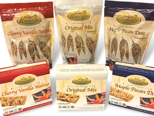The Perfect Granola products.