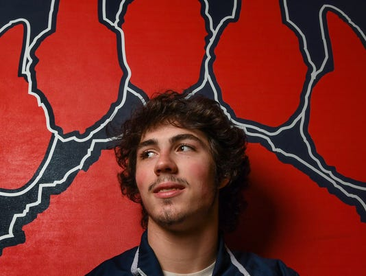 BHP Trevor Mansfield All Area Wrestler of the Year
